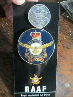 Royal Australian Air Force Medallion 48mm  Australian RAAF Crest Solid Metal
