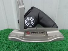 Odyssey PROTOTYPE 1 blanchi Putter 90.2cm W/Capuchon & CUIR stitchback prise
