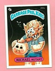 GARBAGE PAIL KIDS MICHAEL MUTANT CARD NR-MT