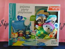Infantino Go Gaga Pajama Party Playhouse Age 0 Infant Baby Toy