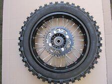 "Pit Bike dirt SDG COMPLETE REAR Wheel, sprocket, disc 12"" 15mm bearings"
