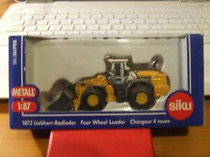 SIKU 1873 Liebherr 580 Wheeled Loader in 1:87 scale, BNIB