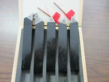 "1"" Indexable Turning Tool Bits 1x1x6"" 5pcs/set TCMT32 Inserts, part#:TOBC1--new"