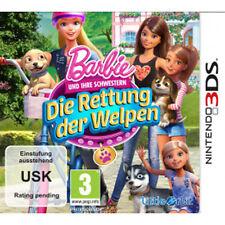 Nintendo 3DS Spiel * Barbie und ihre Schwestern: Die Rettung der Welpen *NEU*NEW