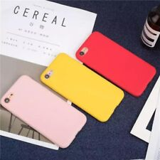 Silicone Case For iPhone 11 Pro X XR XS MAX 6 8 7 & Plus Slim TPU Soft Rubber UK