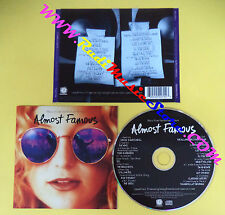 CD SOUNDTRACK Almost Famous 450 279-2 BOWIE THE WHO LED ZEPPELIN no mc vhs(OST3)