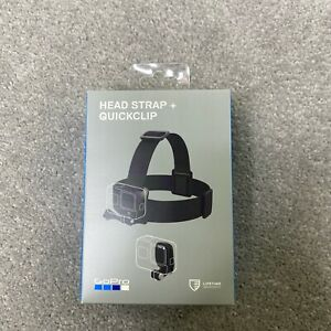 GoPro Head Strap with Quick Clip Brand New