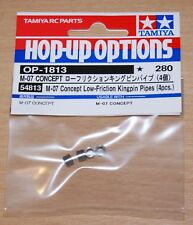 Tamiya 54813 M-07 Concept Low-Friction Kingpin Pipes (4 Pcs.), M07, NIP