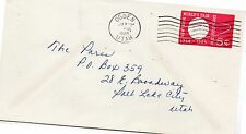 Estados Unidos Sobre Entero postal circulado año 1965 (DE-475)