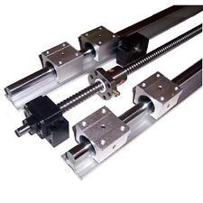 Kit CNC 16x1000mm Vis à billes C7 + Paliers + Guidage lineaire de précision DIY