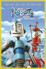 Robots Poster & Plastic Frame Yellow (36x24inches) #I5DQ