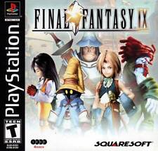 FINAL FANTASY IX 9 SONY PlayStation I PS1 Video Game 4 Discs by SQUARESOFT Rare