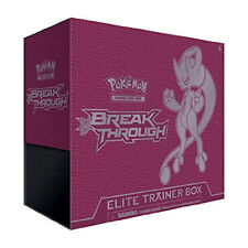 Pokémon Trading Card Game XY BREAKthrough Elite Trainer Box Mewtwo Y Pokemon TC