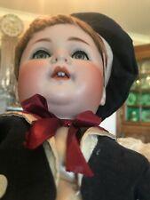 poupée ancienne Bébé de Caractère 201 S Germany 9, Garçonnet, haut 45 cm