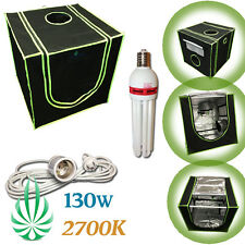 HARVEMAX Grow Tent 60x60x60cm 2700K CFL Grow Light Flowering Blooming Boost Kit