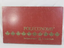 Poleconomy 1983 Board Game of Canada Golden 100% Complete Excellent Plus