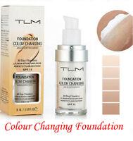 Magic Fashion Colour Changing Foundation TLM Makeup Change Skin Tone Concealer