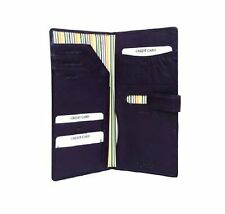 Golunski Black Leather Passport Holder Travel Wallet Tab Closure - 1-005