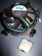 Intel 3.46GHz Celeron D 360 Socket T LGA 775 SL9KK fan copper heatsink alu fins