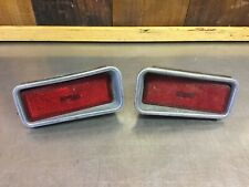 Fiat 124 Spider - Rear Side Marker Lights, Red. Original.           F2475