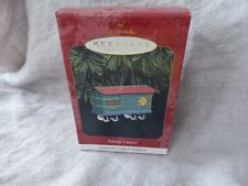 "Hallmark Collectible Ornament ""Yuletide Central"" 1997 Tin Train"