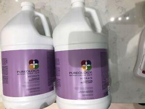 Pureology Hydrate Shampoo & Conditioner - 128oz Gallon Duo Set Pro Size