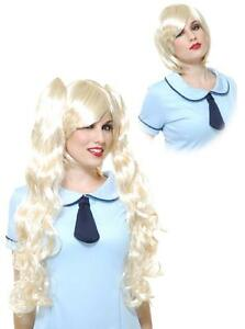 Ghost Princess Perona Wig Anime Fancy Dress Halloween Costume Accessory 2 COLORS