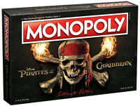 USAopoly Pirates of the Caribbean Ultimate Edition Monopoly Board Game NEW