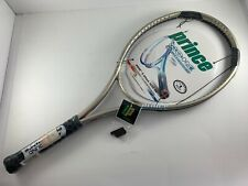 """New listing Prince More S Attack 1050 OS 4-1/4"""" Grip Tennis Racquet Unstrung Frame New NOS"""