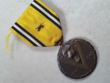 M53 Médaille décor honneur militariat COMMEMORATIVE GUERRE 40-45 Belgique Medal