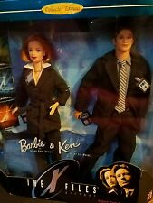 The X-Files Barbie & Ken Retired Giftset Agents Molder & Scully