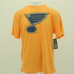 St. Louis Blues NHL Youth Size official Athletic Polyester T-Shirt New