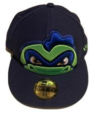 New Era 59Fifty Vermont Lake Monsters Fitted Hat Cap 7 3/8 BRAND NEW