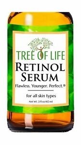 Retinol Serum for Face and Skin, DOUBLE SIZE (2oz) Anti Aging Serum, Clinical...