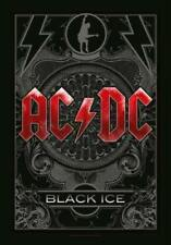 AC/DC Fahne Flagge Black Ice Posterfahne Posterflagge Flag Textilposter