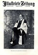 Gerhart Hauptmann XL 1905 Fotoabbildung Ehrendoktor in Oxford