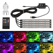 RGB LED Ambientebeleuchtung Innenraumbeleuchtung Fußraumbeleuchtung Lichtleisten