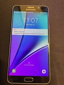 Samsung Galaxy Note5 SM-N920C - 32GB - Black Sapphire (Factory Unlocked)