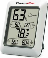 ThermoPro LCD Digital Indoor Hygrometer Thermometer Temperature Humidity Monitor