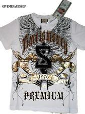 Camisas y camisetas de niño de 2 a 16 años de color principal blanco 100% algodón
