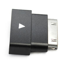 Black Exension Dock Extender 30 Pin Adapter for iPod, iPhone 4/4S