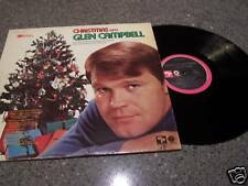 """Glen Campbell """"Christmas with Glen Campbell"""" CAPITOL SL-6699 LP PLAYS GREAT!!"""