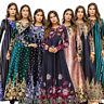 Islamic Cocktail Maxi Party Gown New Abaya Women Muslim Kaftan Long Dress Jilbab