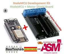 NodeMCU + Motor Shield Development Kit WIFI ESP-12E ESP8266 esp 12E for Arduino
