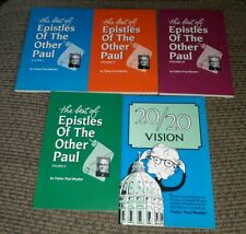 EPISTLES OF THE OTHER PAUL I II III IV/20 20 FATHER MUELLER 5 BOOK LOT Catholic