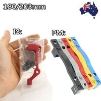 PM/IS Disc Brake Adapter Caliper Front Rear 180mm,203mm MTB Bike Post Mount CNC