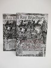 Something Wicked This Way Comes - Ray Bradbury -PS Publishing Limited Signed LTD