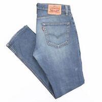 LEVI'S 511 Slim Straight Fit Mens Blue Jeans W31 L32