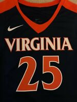 NWT Nike Virginia Cavaliers UVA #25 NCAA Basketball Jersey (Men's Size Small)
