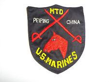 b8635 USMC China  Marines 1930s MTD Horse Mounted 4 Marine Regiment Peiping R5T